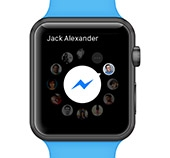 Facebook Messenger trafia na Apple Watch