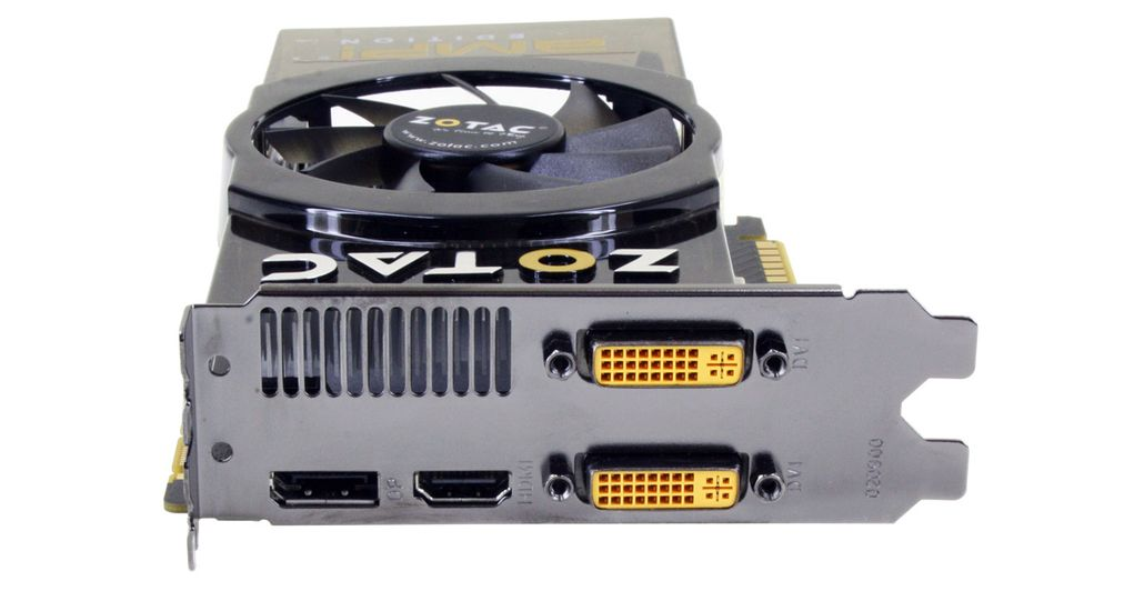 ZOTAC GeForce GTS 450 AMP! Edition