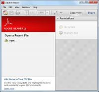 Zrzut ekranu: Adobe Reader