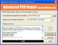 Zrzut ekranu: Advanced PSD Repair
