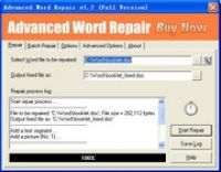 Zrzut ekranu: Advanced Word Repair