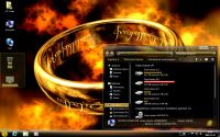 Zrzut ekranu: The One Ring 7 theme